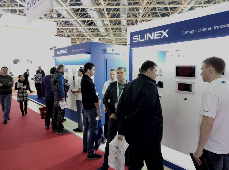 Slinex at the MIPS / SECURIKA 2017