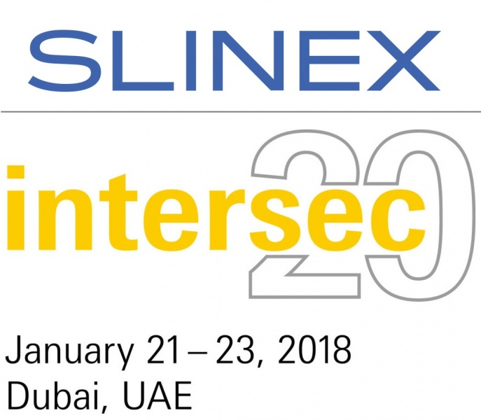 Slinex on Intersec 2018 >>> Best fair – Best days – Best technologies.