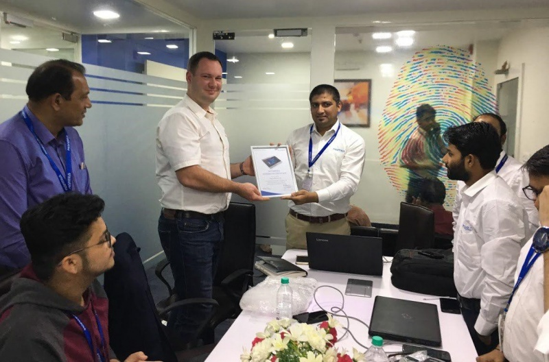 Slinex team practical workshop in India